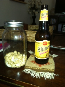 Cashews and Beer